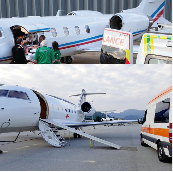 аренда самолета для перевозки лежачего больного