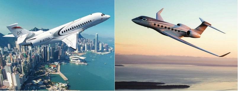 аренда частного самолета деловой авиации