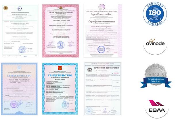 официальные сертификат бизнес авиации