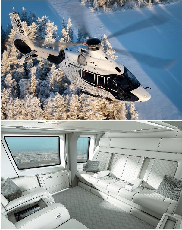 фото бизнес вертолета