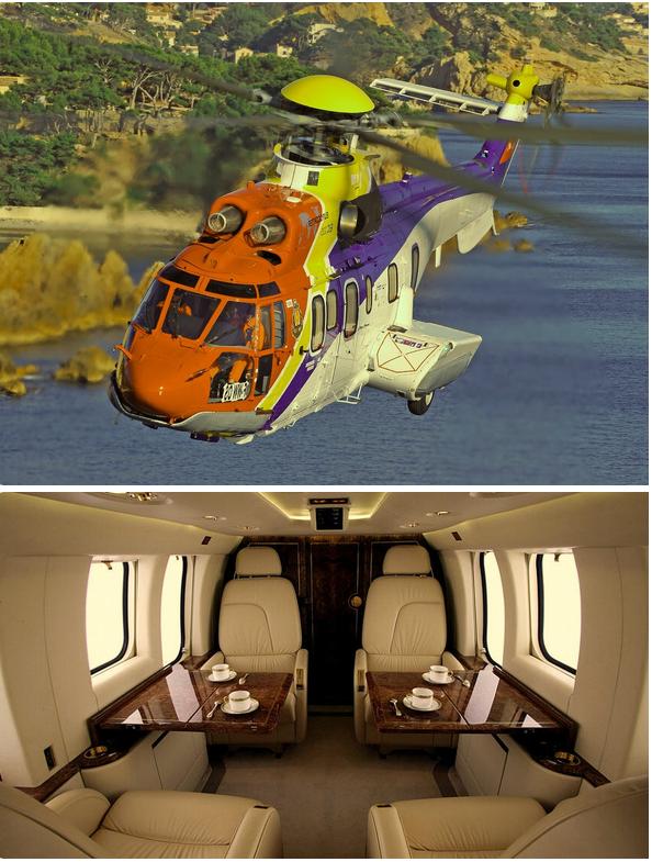 частный вертолет в аренду